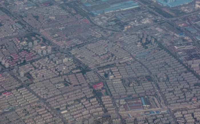 13/03/11 : Premier contact avec la Chine, au dessus de Shanghai...